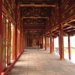 Säulengang in der Zitadelle von Hue