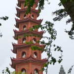 Tran Quoc Pagode Hanoi, Vietnam
