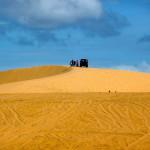 Die weissen Sanddünen von Mui Ne