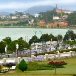 See in Dalat in Vietnam
