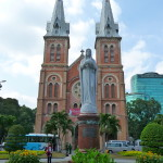 Kathedrale Notre Dame in Ho Chi Minh City, Vietnam