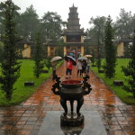Grabanlage Minh-Mang in Hue, Vietnam