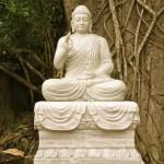 Marble Mountains Buddha aus Marmor