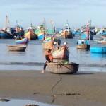 Fischerboote Mui Ne, Vietnam