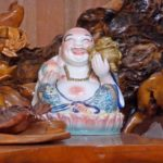 Lachender Buddha bringt Glück in Vietanm