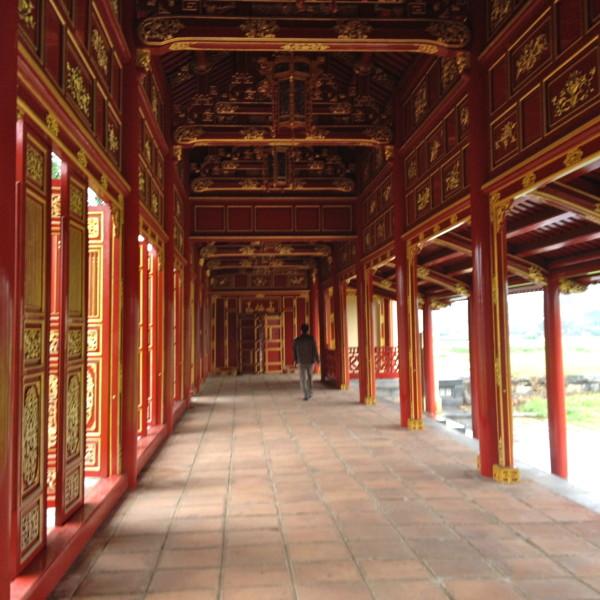 Zitadelle Säulengang
