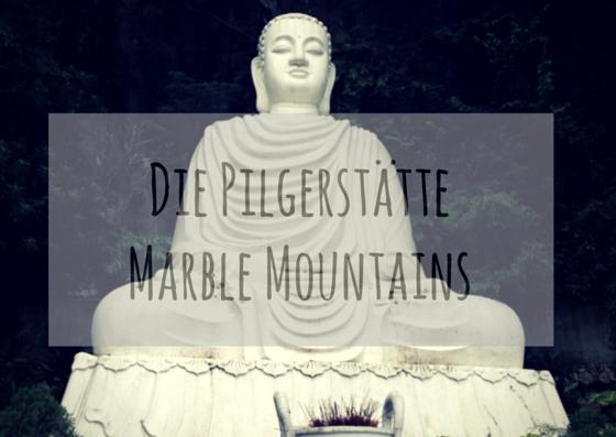 Pilgerstätte Marble Mountains mit grossem Buddha