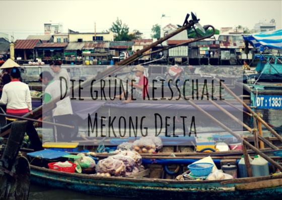 Reisschale Mekong Delta
