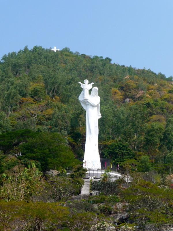 Vietnamreise Vung Tau Marienstatue