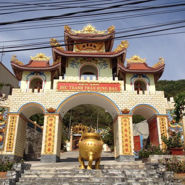 Tempelanlage in Vung Tau, Vietnam