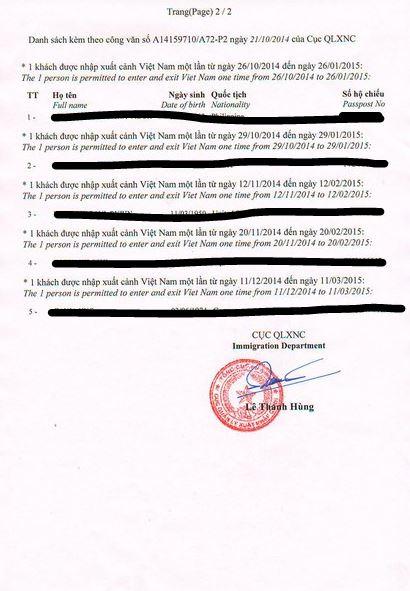 Visa on arrival Einladungsschreiben1