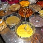 Vietnamese Pudding auf lokalem Markt