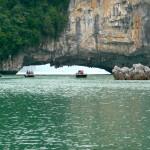 Bootsfahrt in der Halong Bay