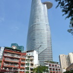 Bitexco Tower in Ho Chi Minh City, Vietnam