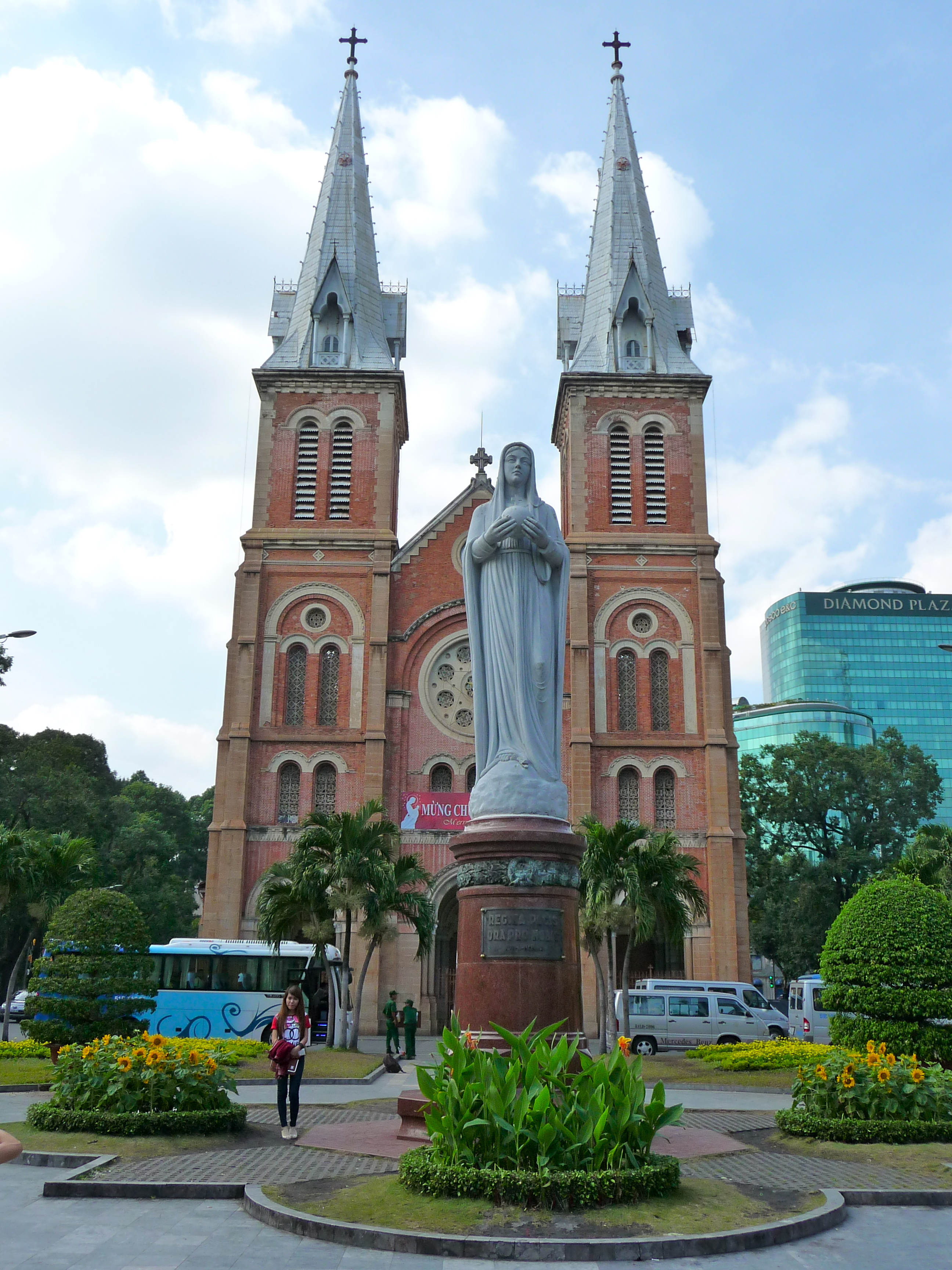 Notre Dame Kathedrale in Ho Chi Minh City