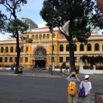 Post office in Ho Chi Minh City, Vietnam