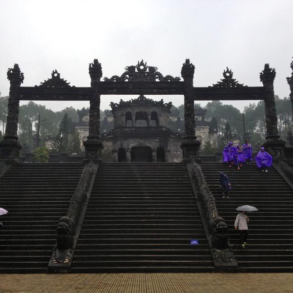 Kaisergrab Tu Duc in Hue