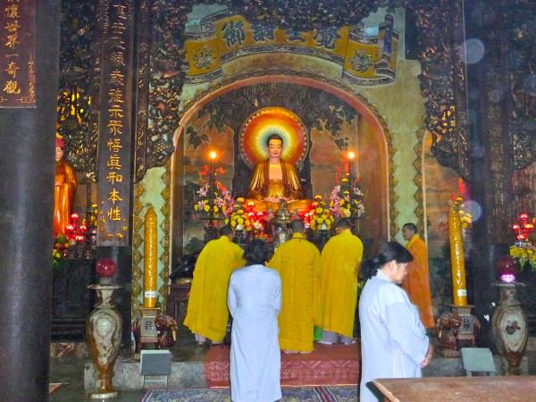 Marble Mountains Buddhistische Zeremonie
