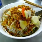 Berühmte und sehr leckere Pho Nudelsuppe in Vietnam