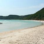 Schöne Sandbucht auf Phu Quoc, Vietnam