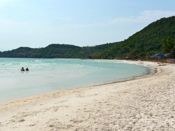 Schöne Sandbucht Phu Quoc