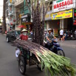 Big things on small vehicles in Ho Chi Minh City
