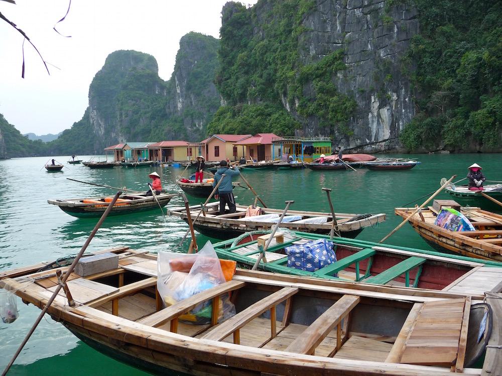 Floating Village Halong Bay, Vietnam